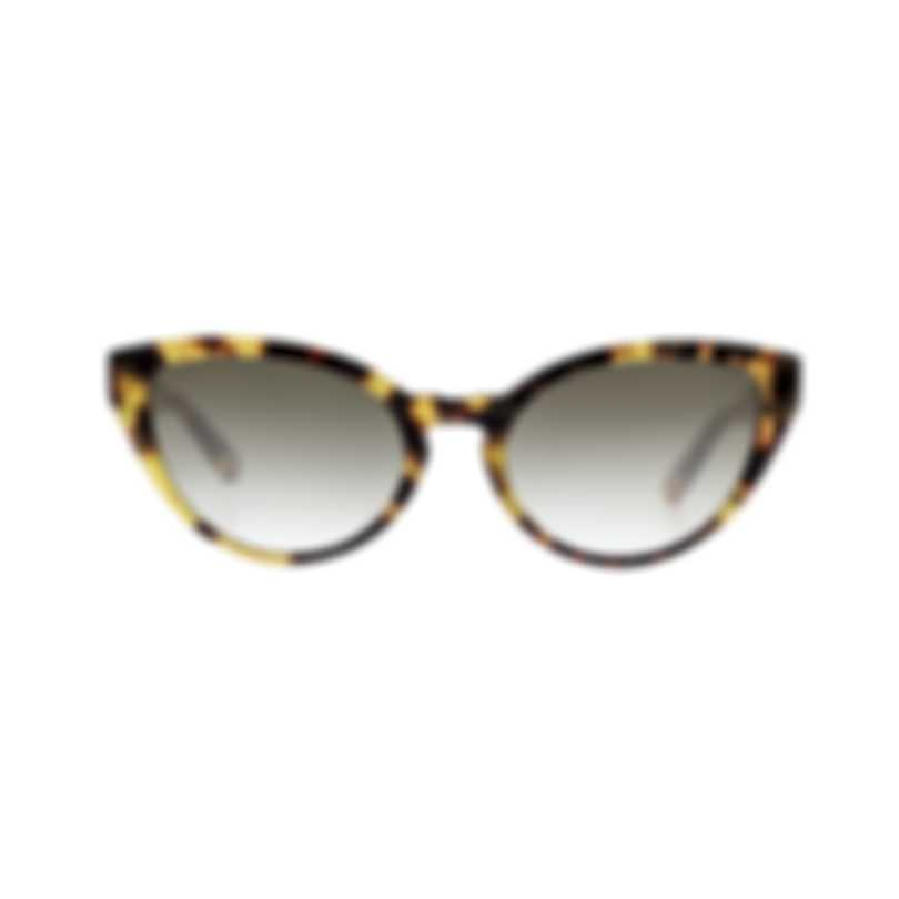 Chloe Women's Havana And Gradient Smoke Acetate Sunglasses CE757S-845