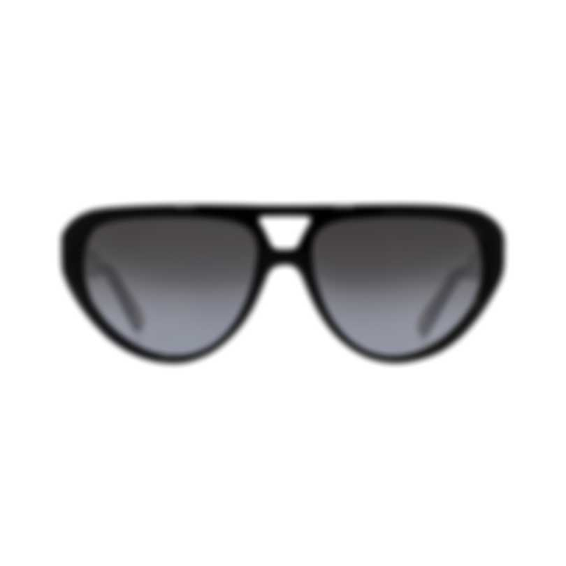Chloe Men's Black And Smoke Gradient Aviator Style Sunglasses CE758S-001