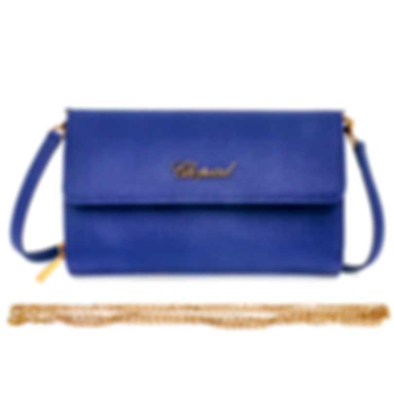 Chopard Tokyo Blue Leather Handbag 95000-0494