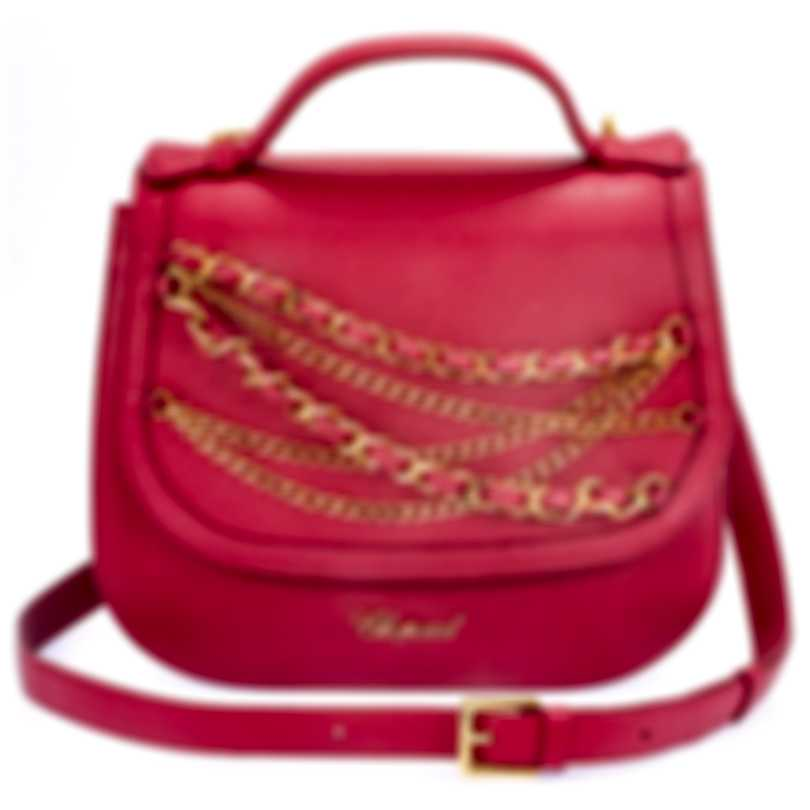 Chopard Sevilla Bordeaux Leather Handbag 95000-0548