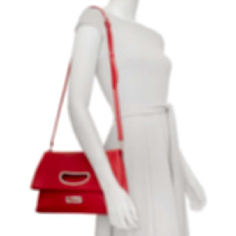 Chopard Lisbona Red Leather Handbag 95000-0554