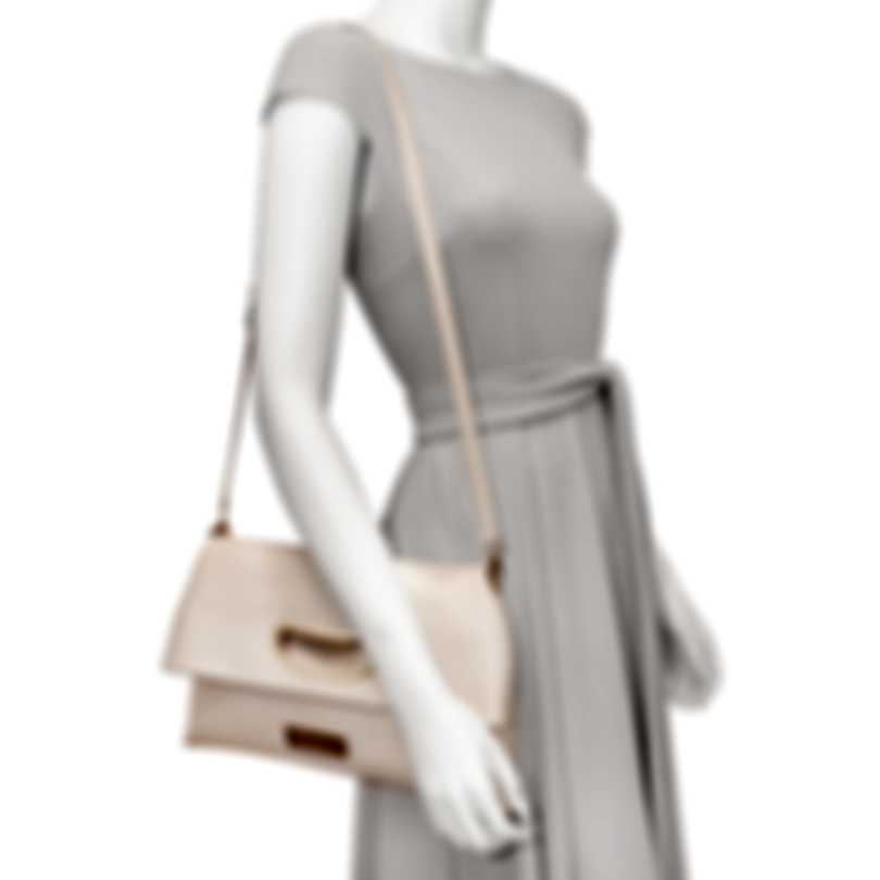 Chopard Lisbona Champagne Leather Handbag 95000-0584