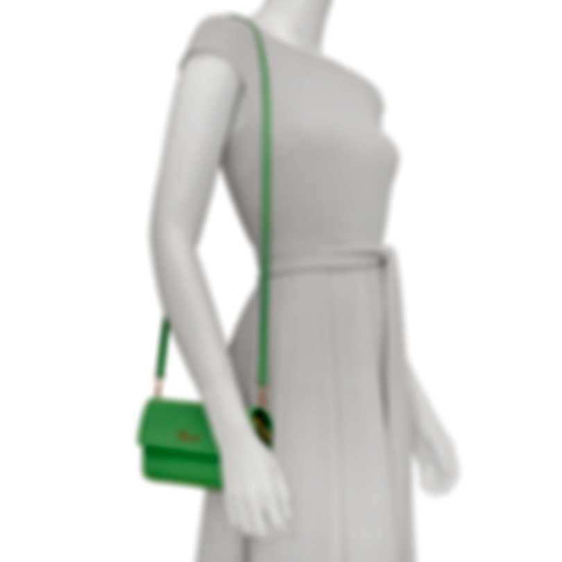 Chopard Tokyo Green Leather Handbag 95000-0531