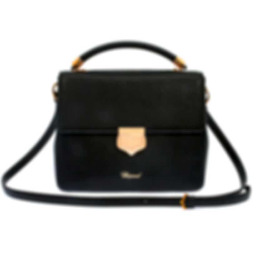 Chopard Siena Black Leather Handbag 95000-0665