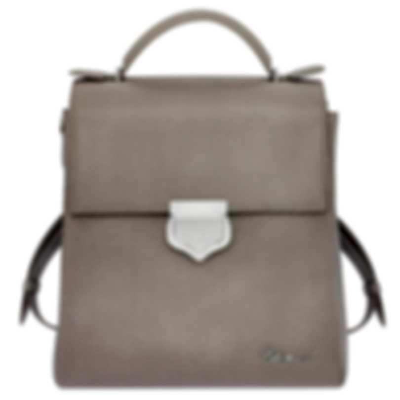 Chopard Imperiale Grey Leather Handbag 95000-0678