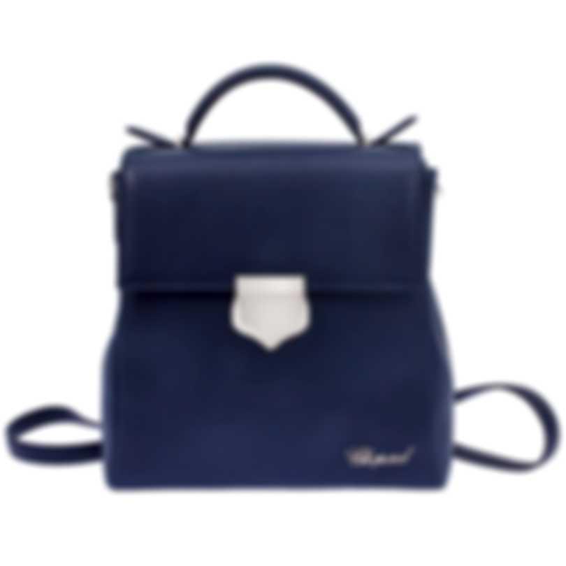 Chopard Imperiale Navy Leather Handbag 95000-0680