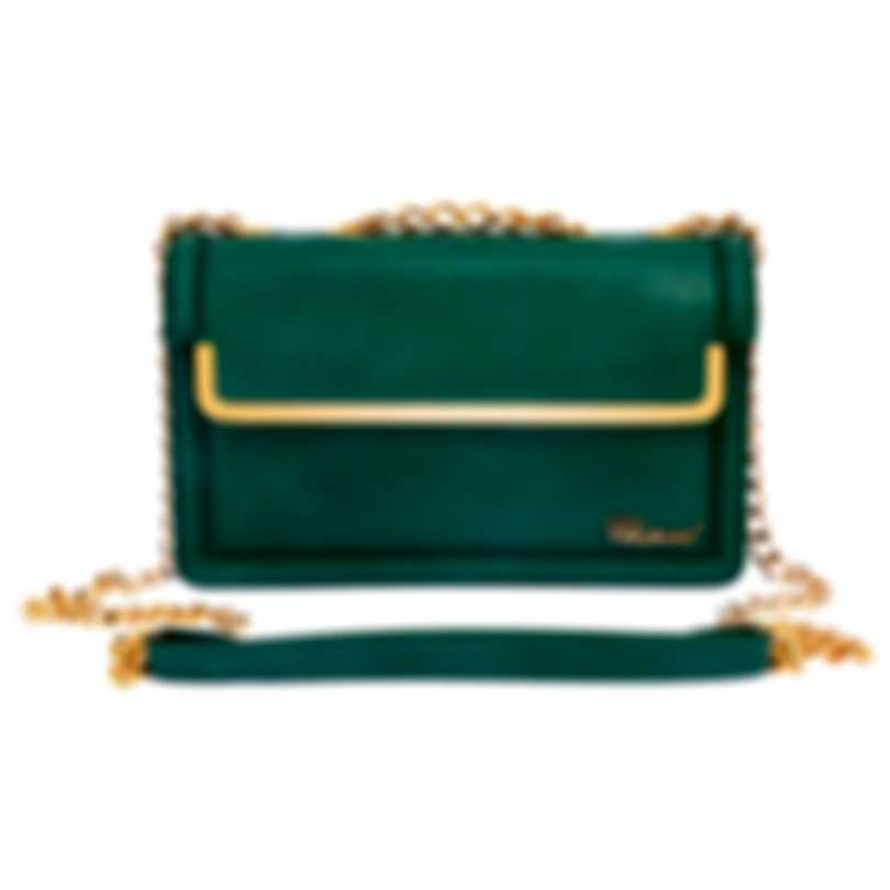 Chopard Vintage Green Leather Handbag 95000-0627