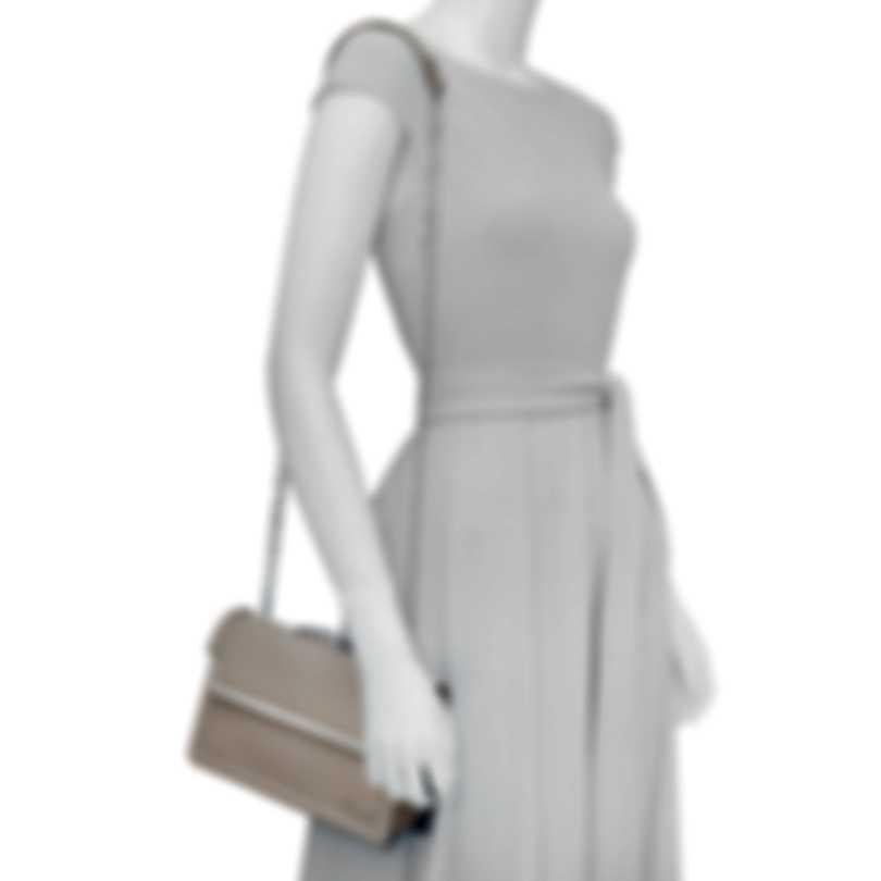 Chopard Vintage Grey Leather Handbag 95000-0631