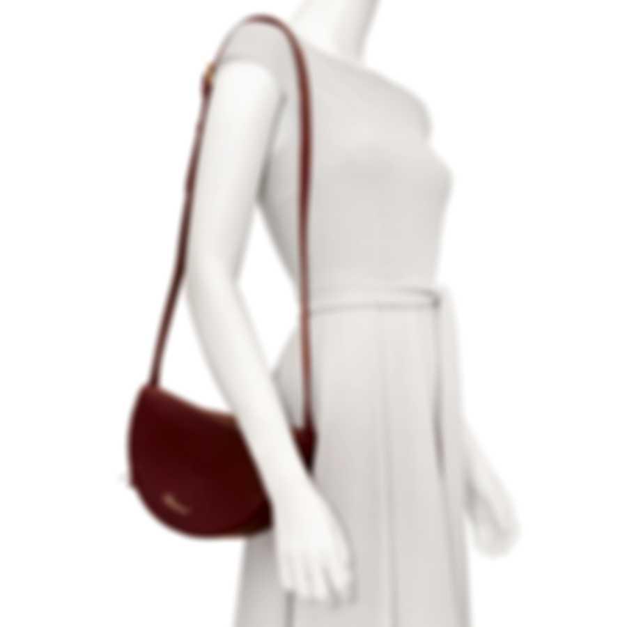 Chopard Demi-Lune Plum Leather Handbag 95000-0762