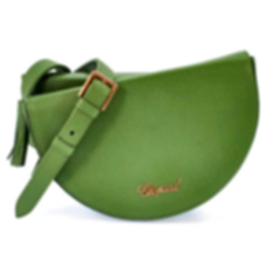 Chopard Demi-Lune Green Leather Handbag 95000-0765