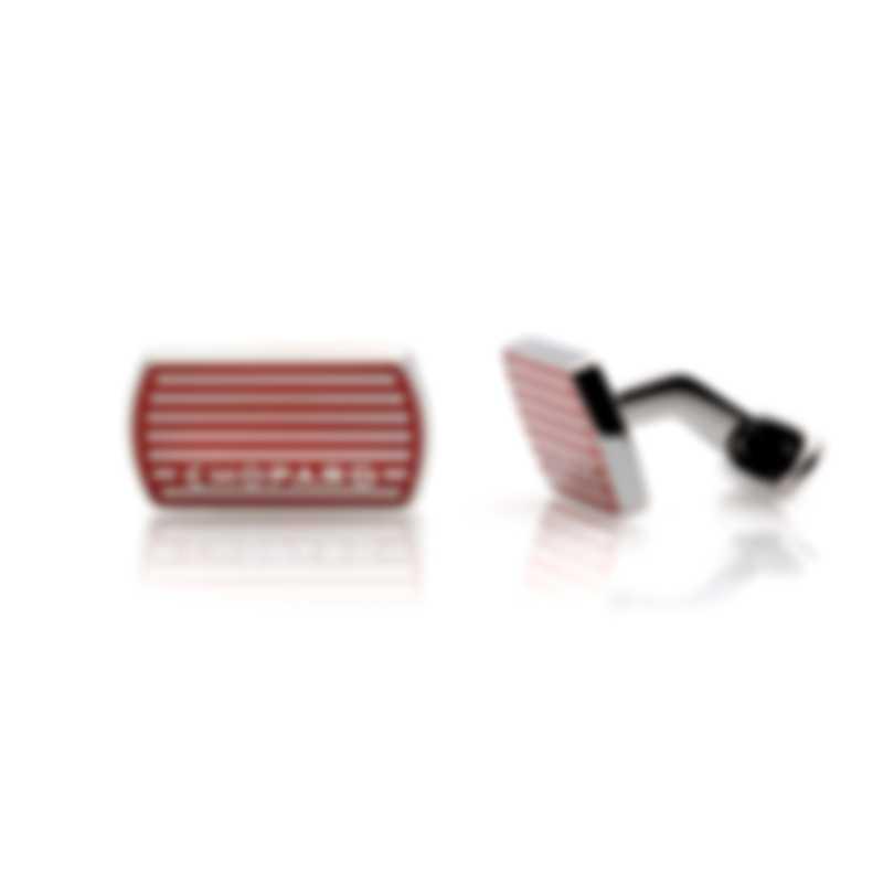 Chopard Classic Racing Red Palladium Cufflinks 95014-0032