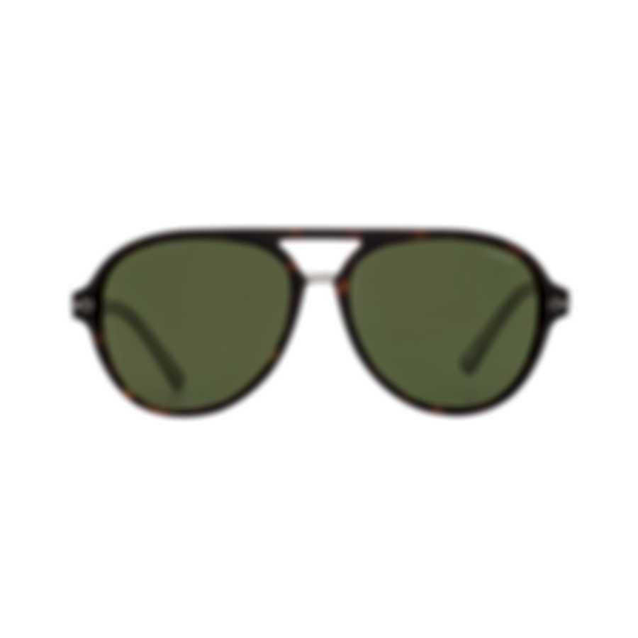 Chopard Superfast Grey Gradient & Tortoise Aviator Style Sunglasses 95217-0344
