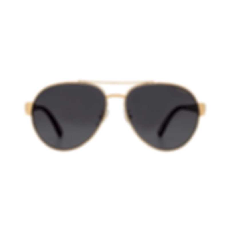 Chopard Racing Grey & Gold Aviator Style Sunglasses 95217-0369