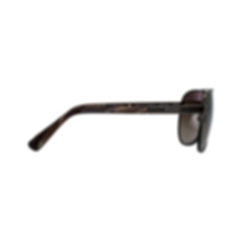 Chopard Classic L.U.C Collection Brown Aviator Style Sunglasses 95217-0389