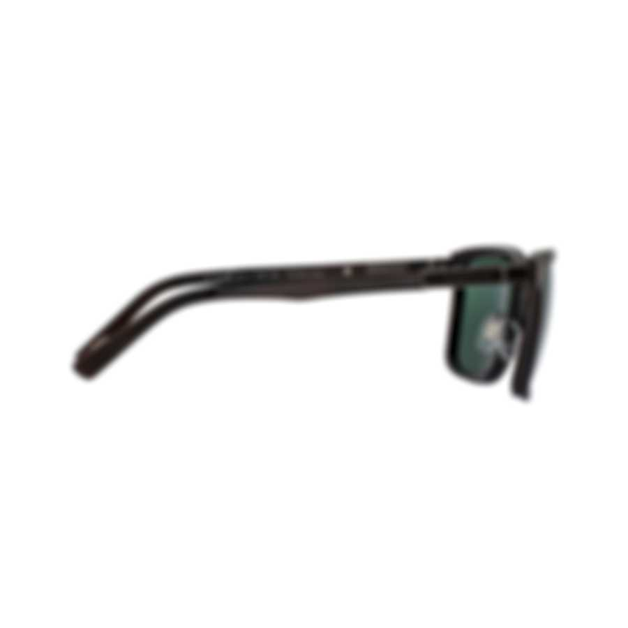 Chopard Brown & Gunmetal Sunglasses 95217-0443