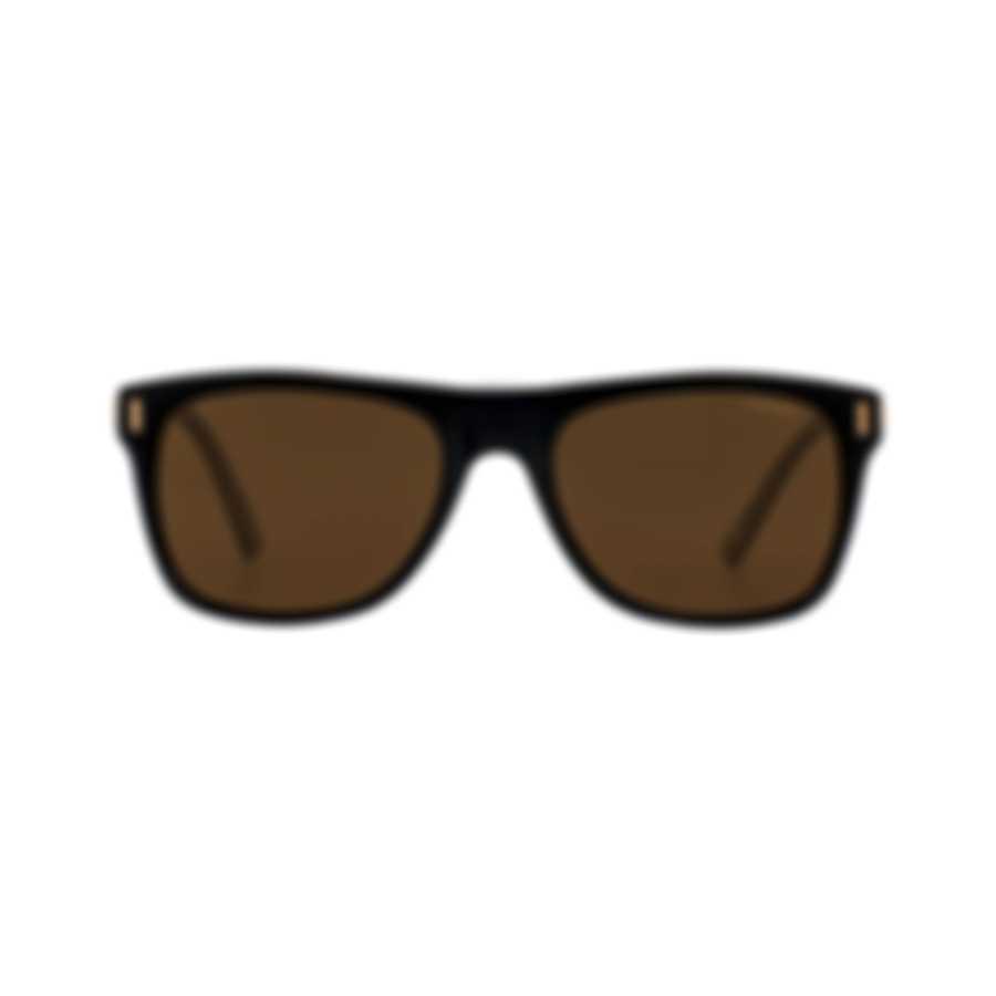 Chopard Classic Brown & Black And Tortoise Sunglasses 95217-0456
