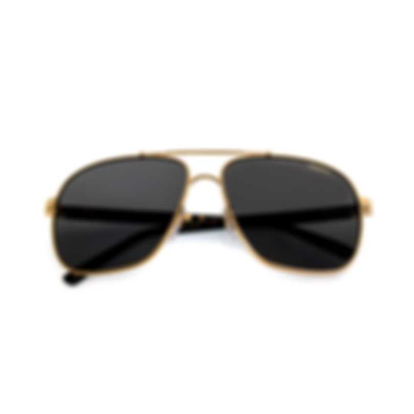Chopard Black And Gold Sunglasses 95217-0411