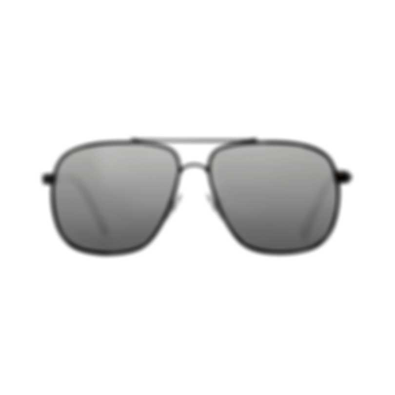 Chopard Silver & Gunmetal Aviator Style Sunglasses 95217-0412
