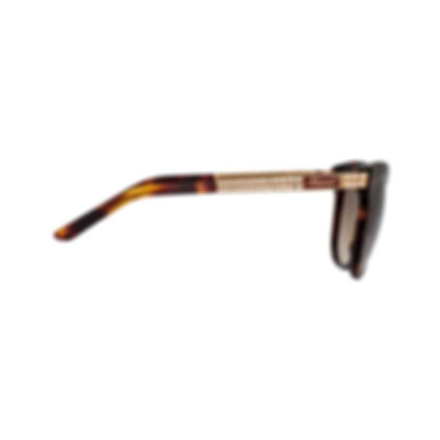Chopard Designer Tortoise Shell Cat-Eye Butterfly Shape Sunglasses 95221-0263