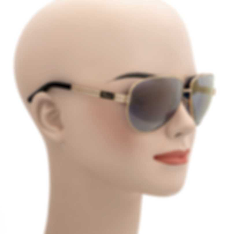 Chopard Gold And Blue Sunglasses 95221-0269