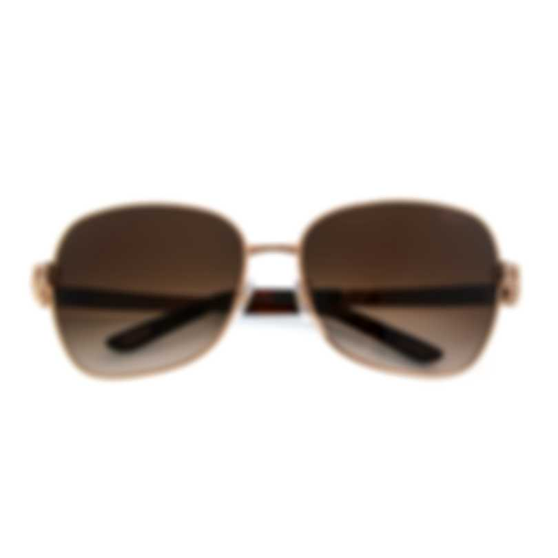 Chopard Brown And Gold Sunglasses 95221-0272