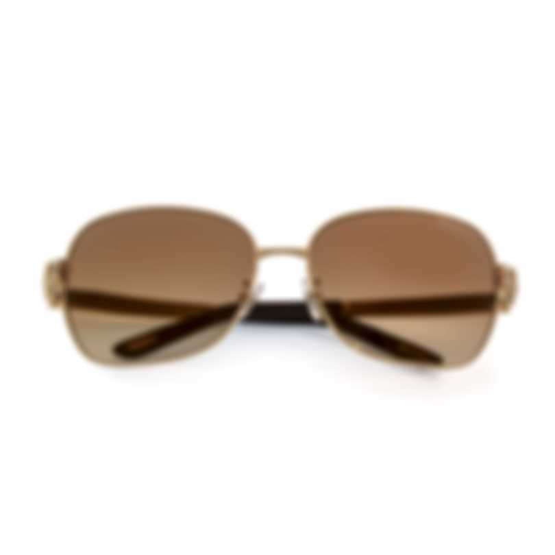 Chopard Gold And Brown Sunglasses 95221-0275