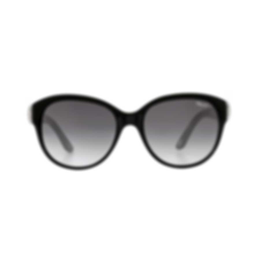 Chopard L Heure Du Diamant Grey Gradient & Black Cat-Eye Sunglasses 95221-0280