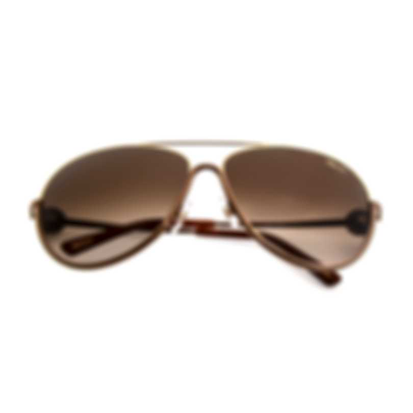 Chopard Bronze And Brown Sunglasses 95221-0293