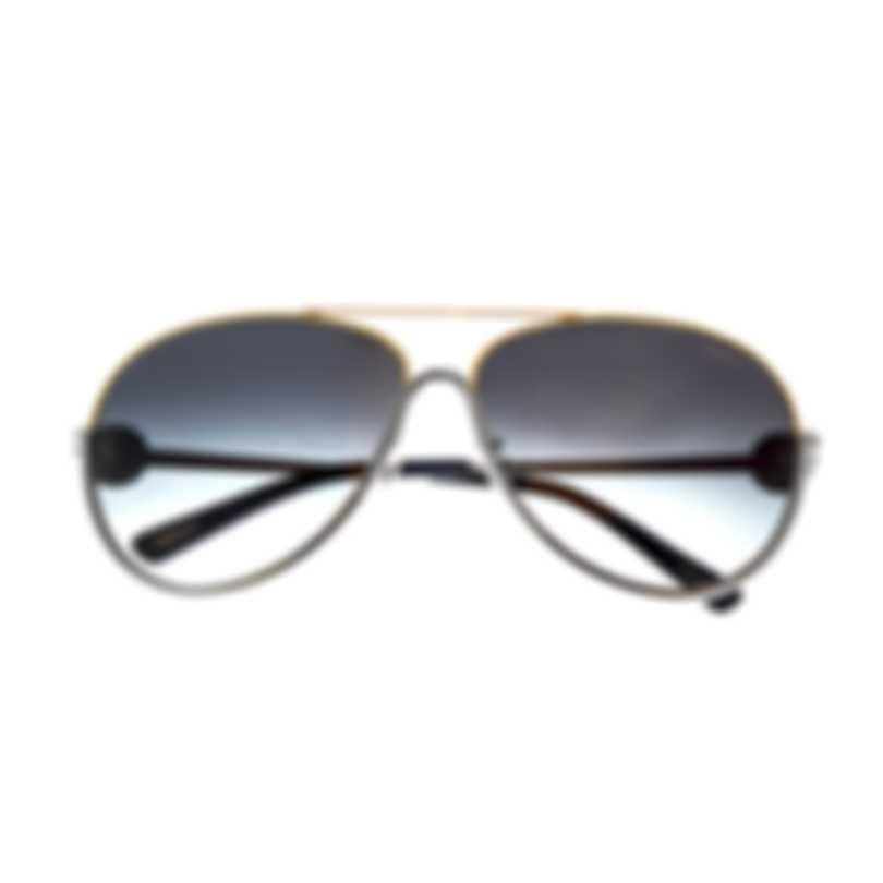 Chopard Silver And Black Sunglasses 95221-0292