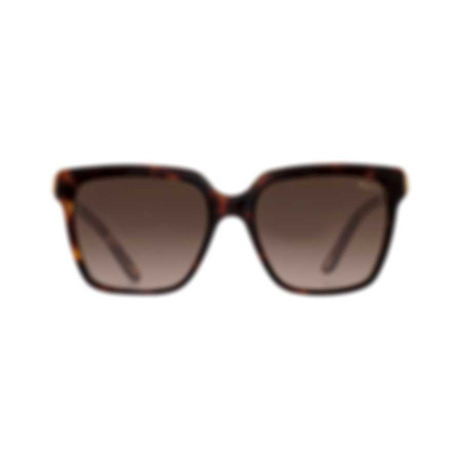 Chopard Brown & Dark Havana Square Sunglasses 95221-0345