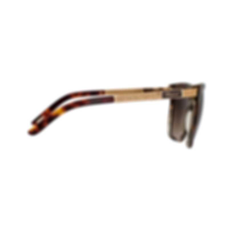Chopard Brown & Dark Havana Square Sunglasses 95221-0345