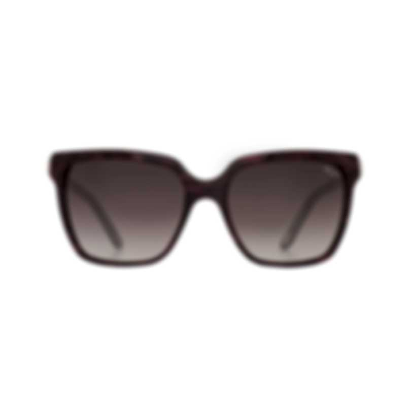 Chopard Bordeaux Gradient & Bordeaux Pearl Square Sunglasses 95221-0346