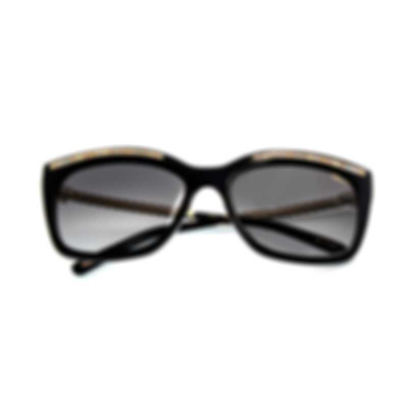 Chopard Black And Multicolored Sunglasses 95221-0359