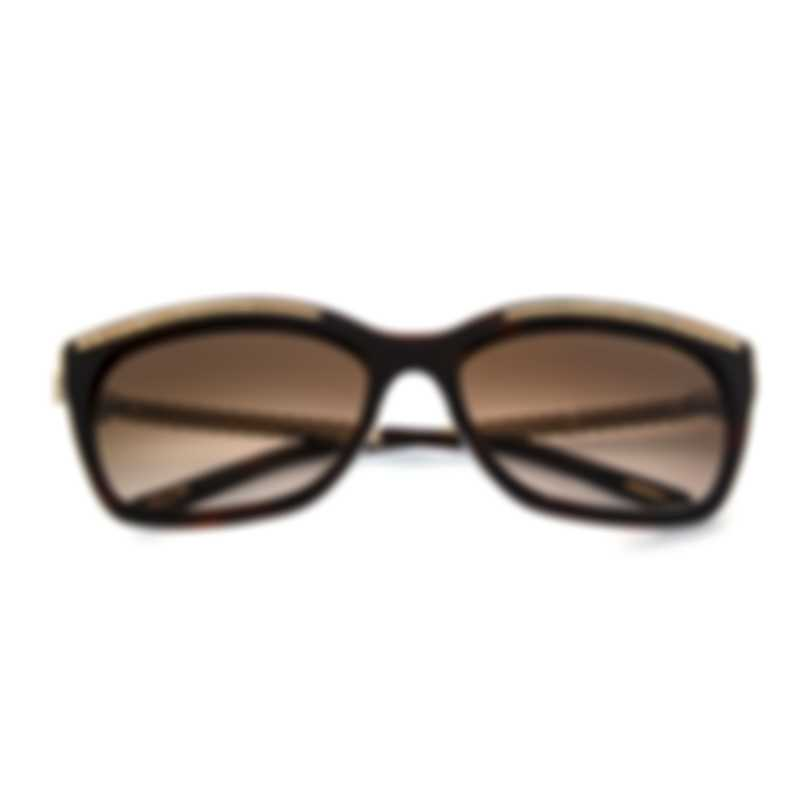 Chopard Brown And Gold Sunglasses 95221-0360