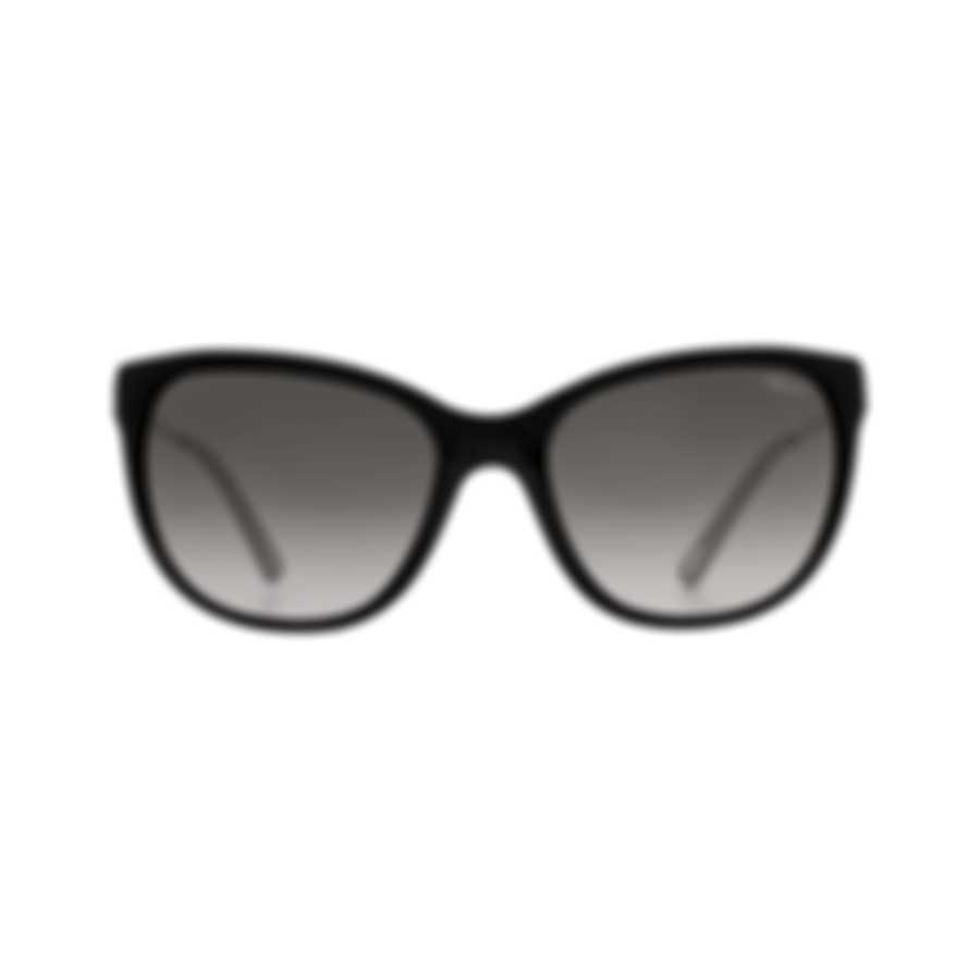 Chopard Grey Gradient & Black Square Sunglasses 95221-0323