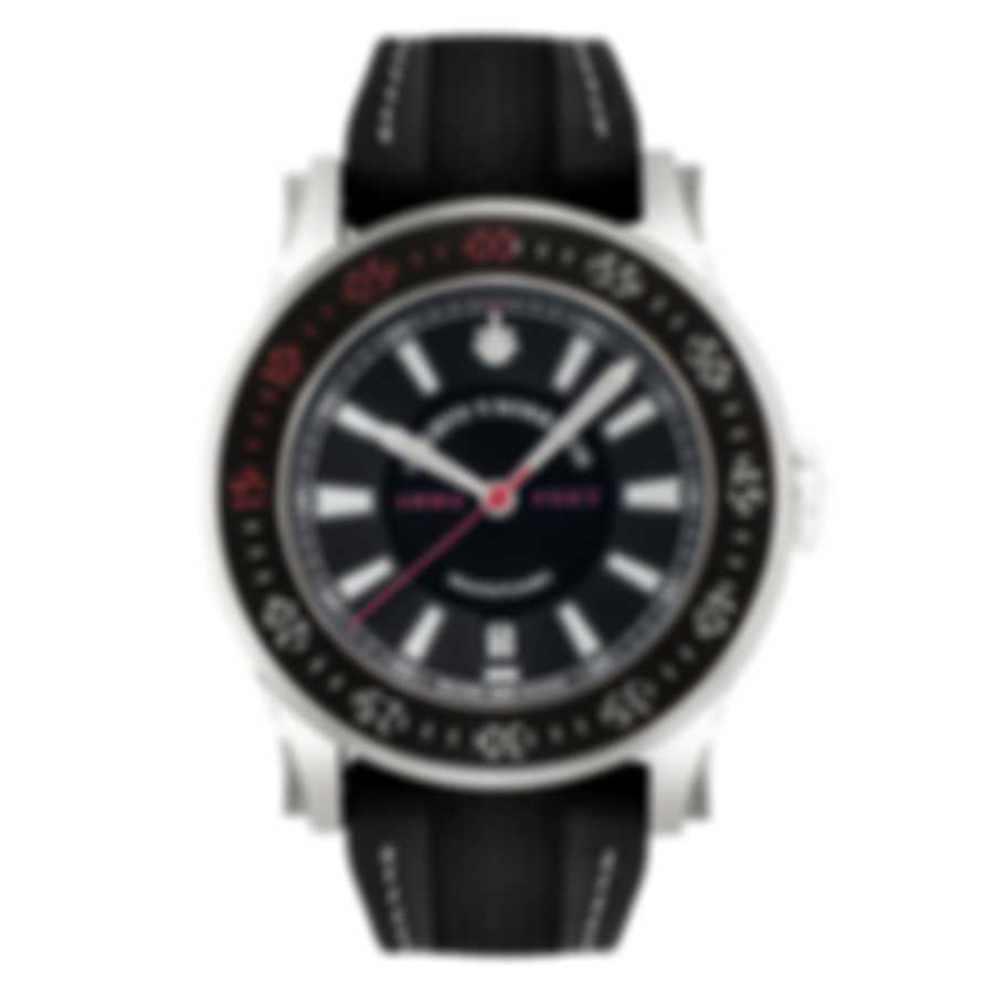 Cuervo Y Sobrinos White Bezel; Red Second Hand; Red Zero; White Stitching