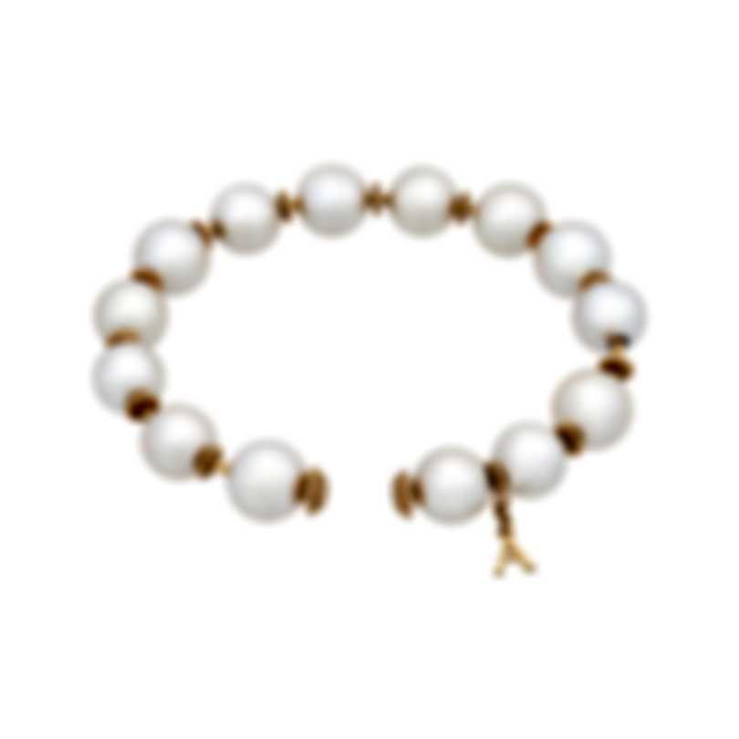 Assael 18k Yellow Gold And South Sea Pearl Bracelet B1675