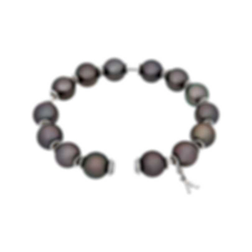 Assael 18k White Gold And Tahitian Pearl Bracelet B1697
