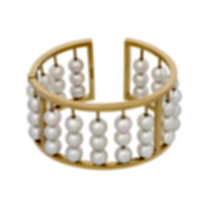 Assael 18k Yellow Gold And Pearl Bracelet B1731