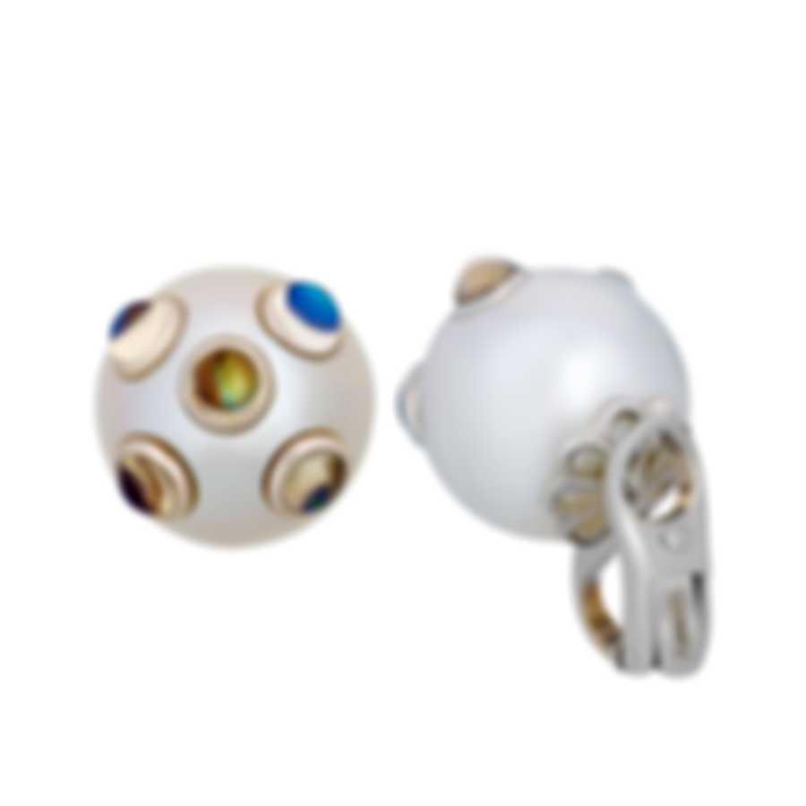 Assael 18k White Gold And South Sea Pearl Earrings E5684