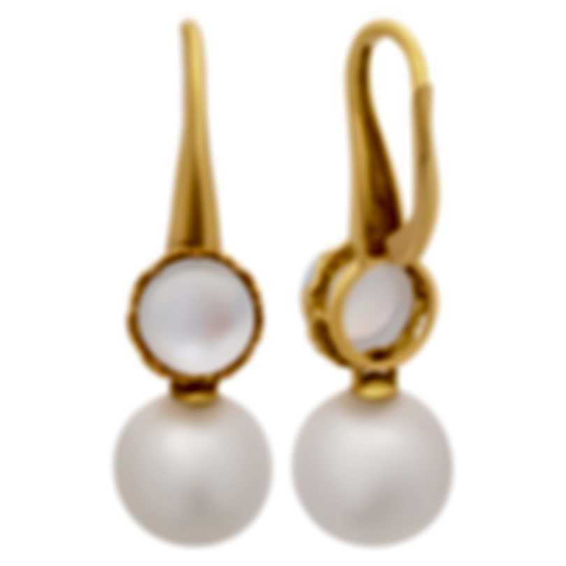 Assael 18k Yellow Gold And Moonstone Earrings E6319