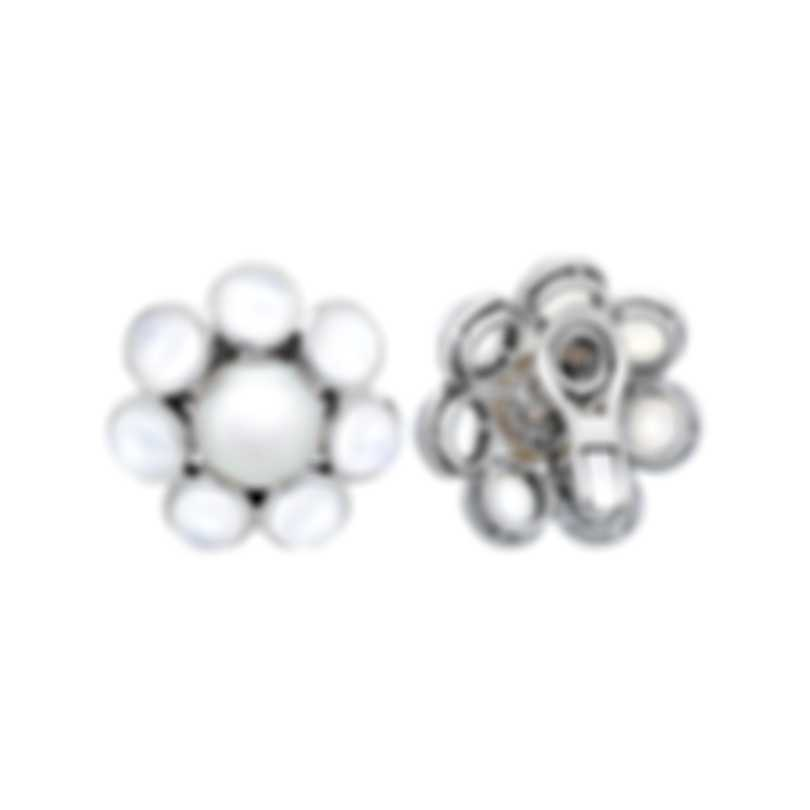 Assael 18k White Gold And South Sea Pearl Earrings E6481