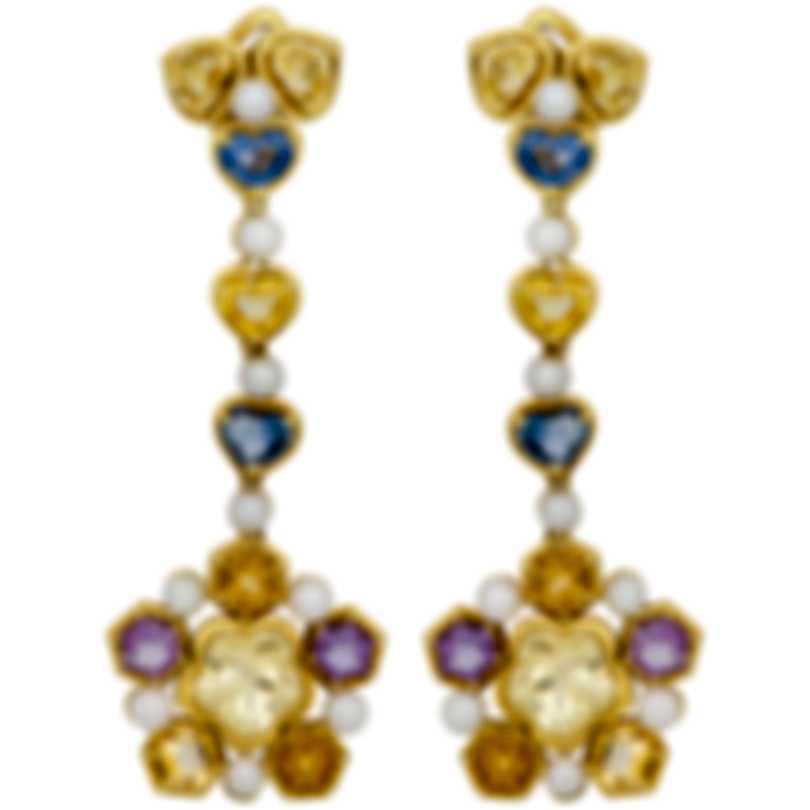Assael 18k Yellow Gold And Akoya Pearl Earrings E6427