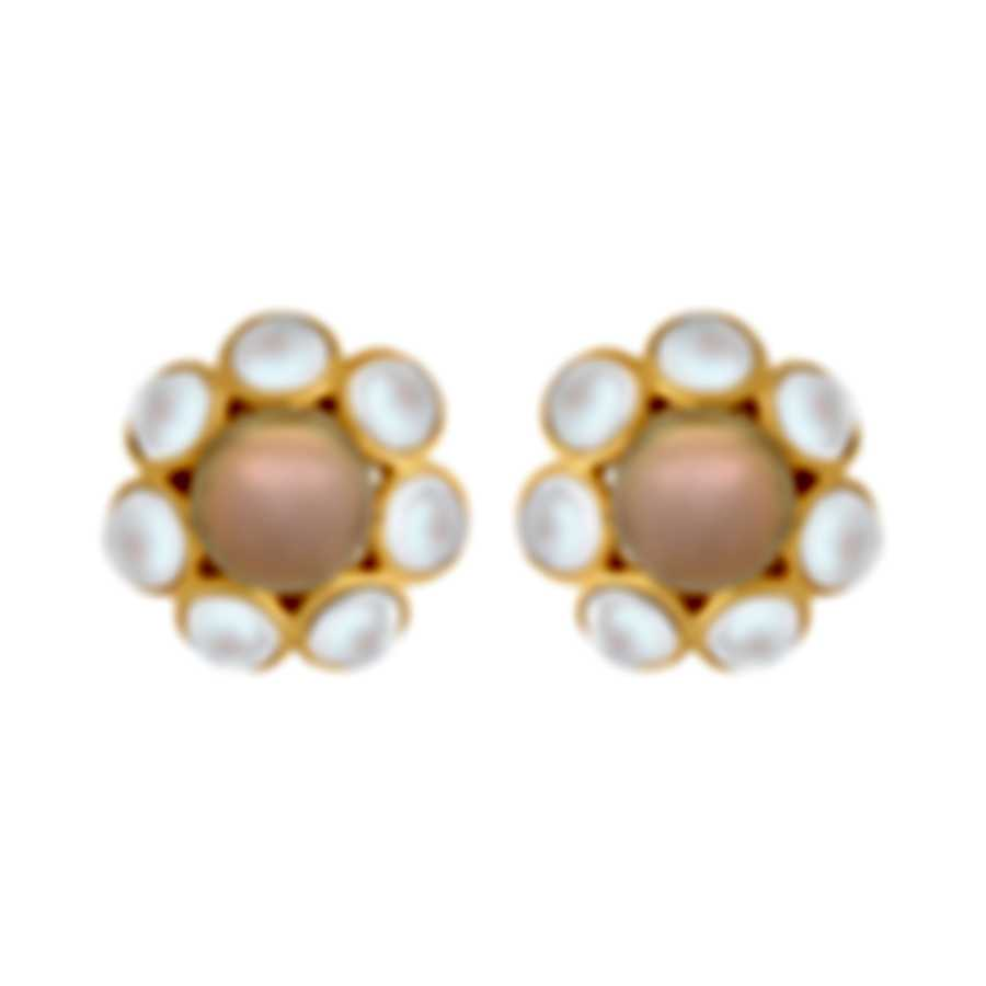 Assael 18k Yellow Gold And South Sea Pearl Earrings E6506