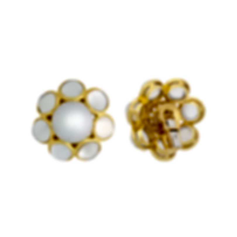 Assael 18k Yellow Gold And South Sea Pearl Earrings E6936