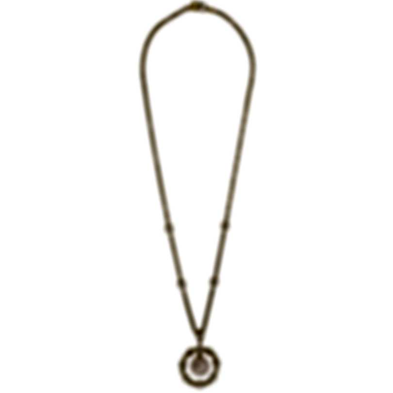 Assael 18k Yellow Gold Diamond 1.67ct And Pearl Necklace N3886