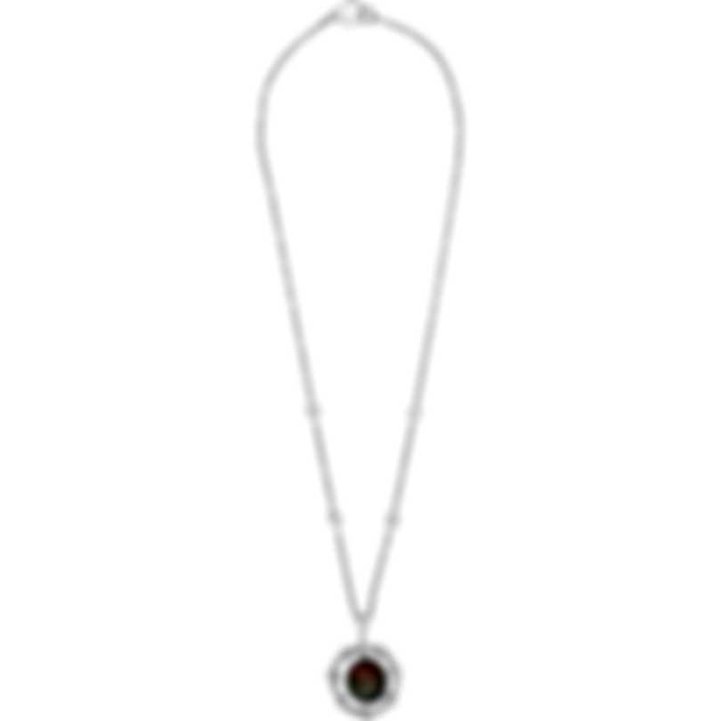 Assael 18k White Gold Diamond 1.51ct And Tahitian Pearl Necklace N3806