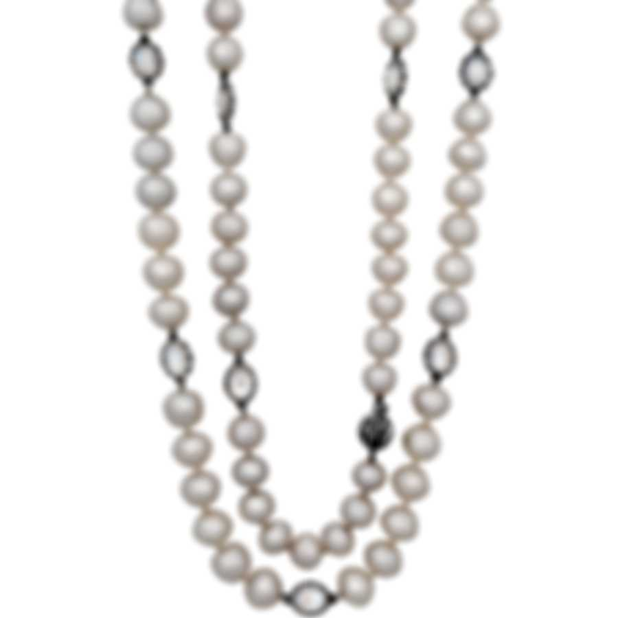 Assael 18k White Gold And South Sea Pearl Necklace N4417