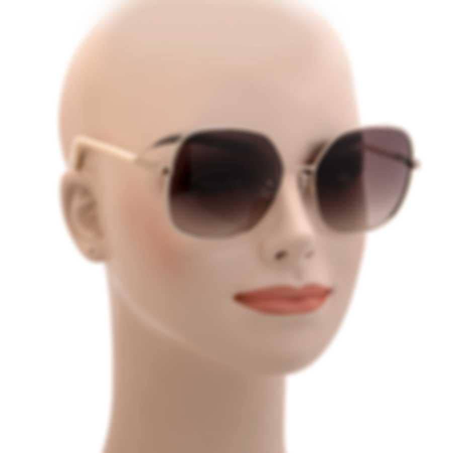 BCBG Gold/Silver & Brown Retro Sunglasses BA4007-718