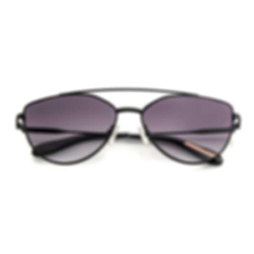 BCBG Black & Black Cat Eye Sunglasses BA4021-002